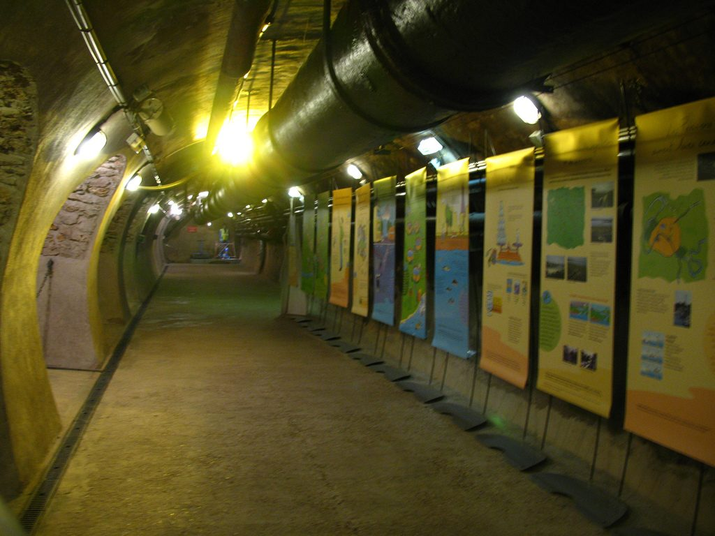 Explication musée des égouts