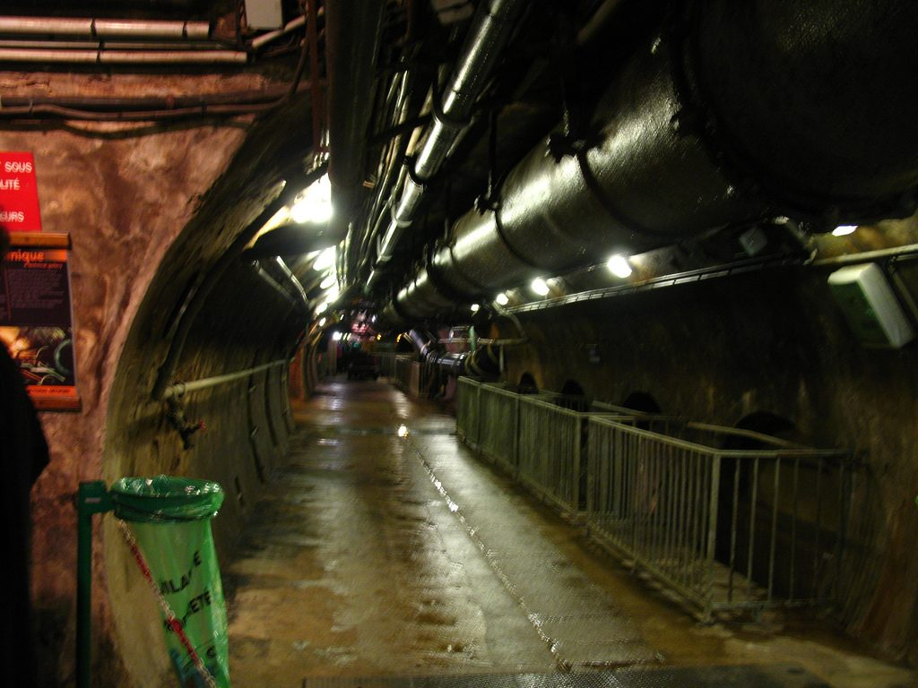Tunnel des égouts de Paris